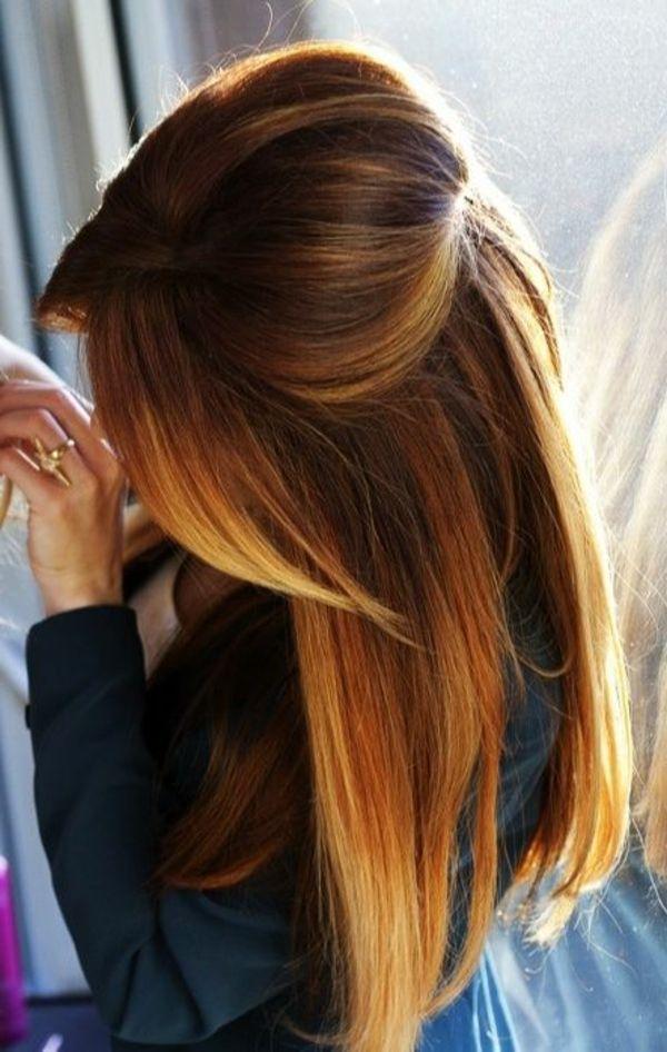 ¿qué color de pelo, elegir el peinado de su cabello castaño