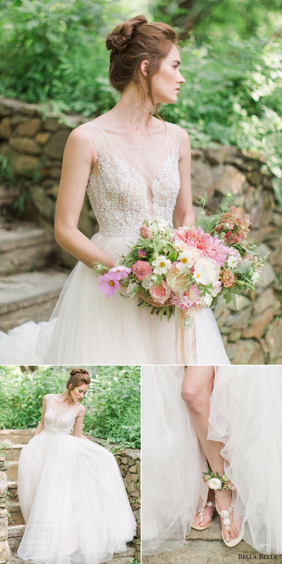 bella belle zapatos de novia 2016 bodas sandalias de la boda de diamantes de imitación de destino myra Watters vestido