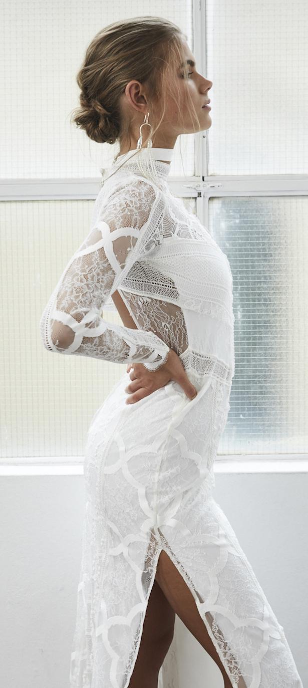 Gracia ama cordón - Colección Nupcial Blanc