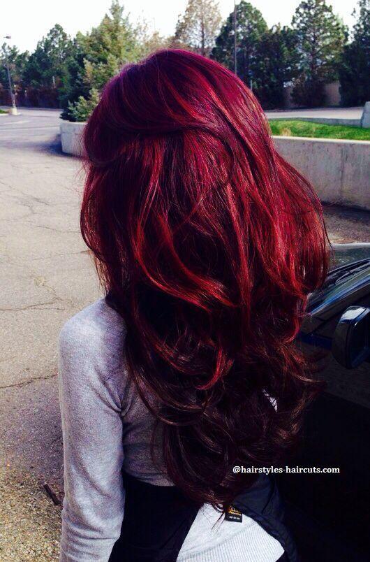 # #couleur pelo rojo #hair #colorful