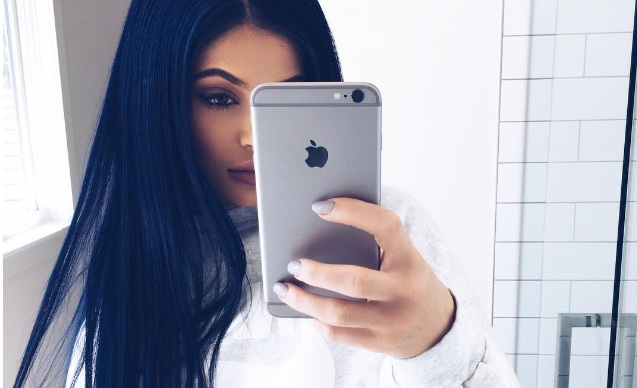 color Kylie Jenner pelo 19
