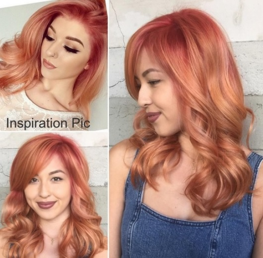 Beautiful colores del pelo Medio 17