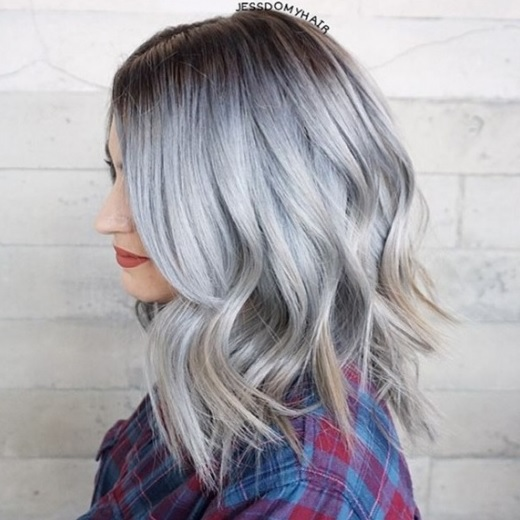 Beautiful colores del pelo Medio 27