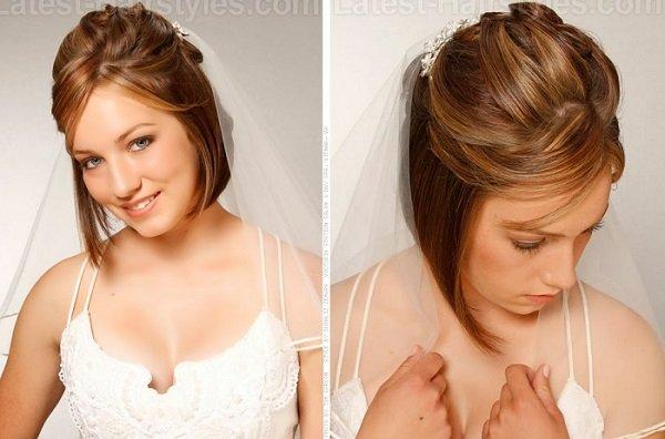 peinados de bodas con cerradura 2