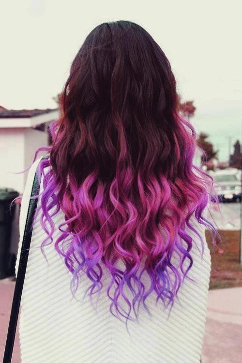 # #love de color de pelo #violet: