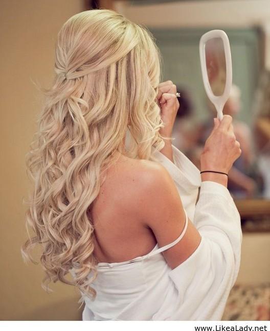 chic-medio-pelo-boda-peinados-10