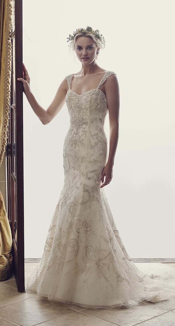 Casablanca Primavera 2016 vestido de novia