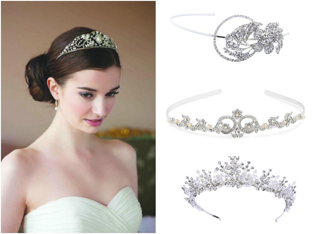 corona accesorios-2 pelo de la dirección-gloria-novia