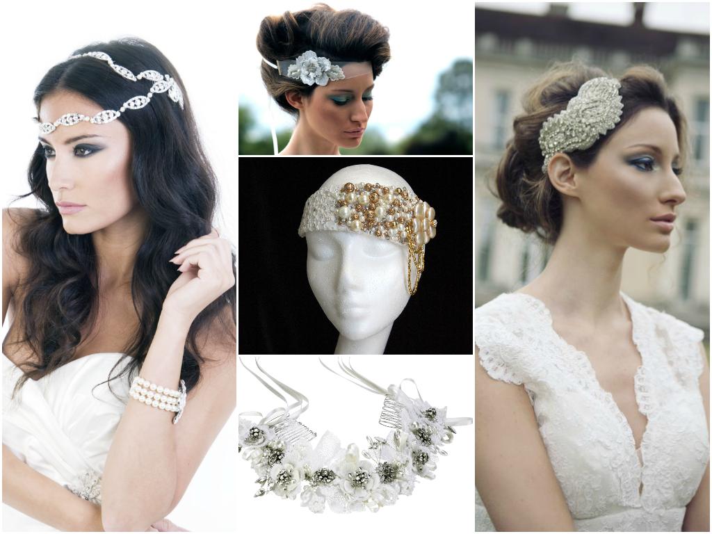 corona accesorios-4 pelo de la dirección-gloria-novia