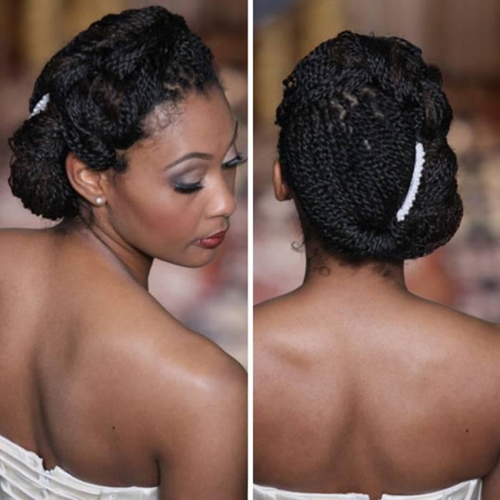 -pelo-africano peinado para la boda
