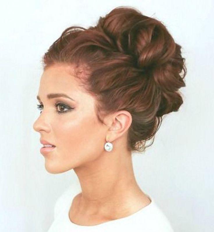 Ideas peinado de la boda: una falta de definición de la bailarina bollo