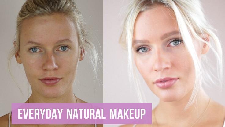 -Makeup.jpg Natural para aquellos de ustedes que aman el maquillaje, sabes que a veces toda la rutina puede conseguir agotador, especialmente en los días de descanso. es por eso que siempre es bueno conocer algunos estilos de maquillaje para mantenerlos para tales días. #makeup