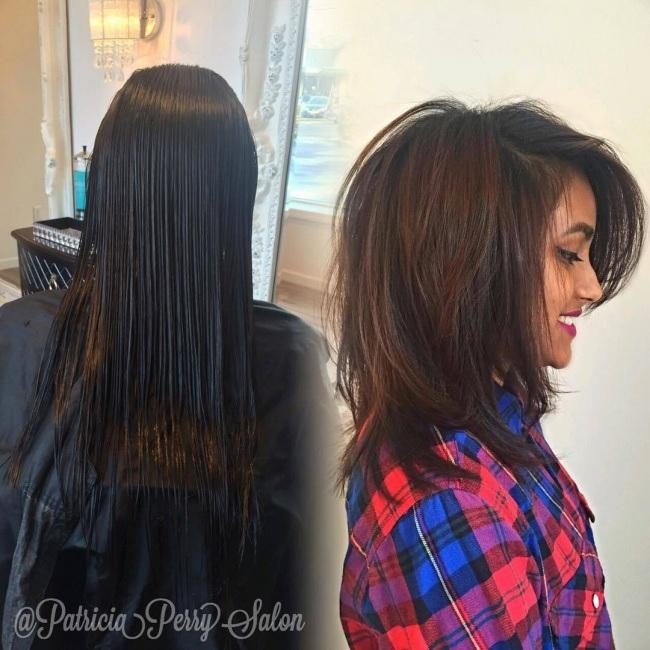 longitud media peinados 13