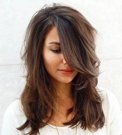 el cabello-mediados de longitud-2017-18