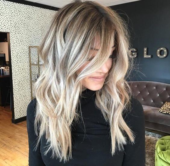 el cabello-mediados de longitud-2017-19