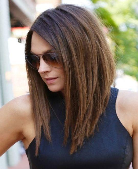 el cabello-mediados de longitud-2017-20