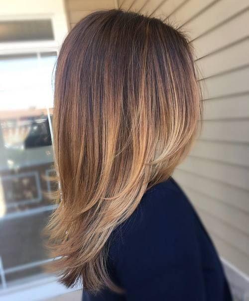 el cabello-mediados de longitud-2017-3