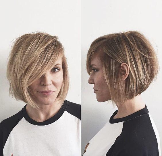 el cabello-mediados de longitud-2017-5