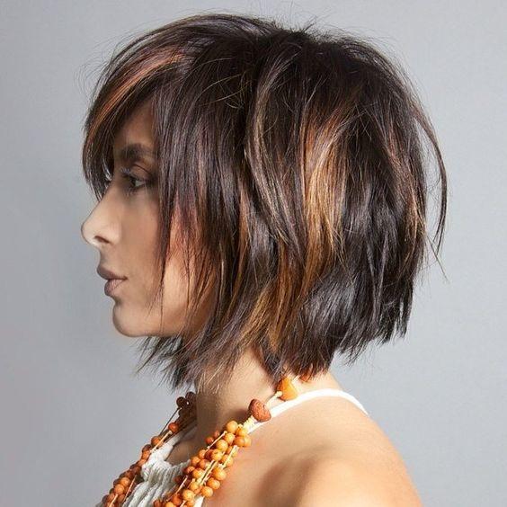 el cabello-mediados de longitud-2017-7