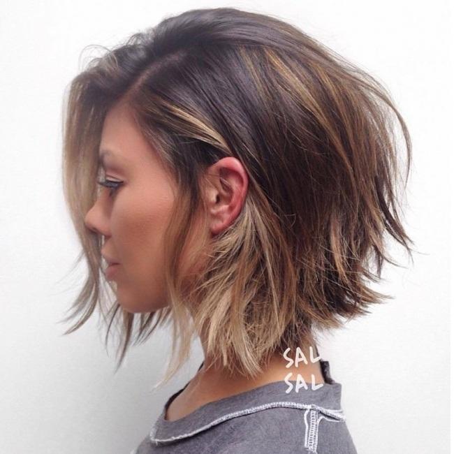 el cabello-mediados de longitud-2017-9
