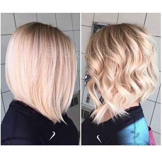 el cabello-mediados de longitud-ondules-7