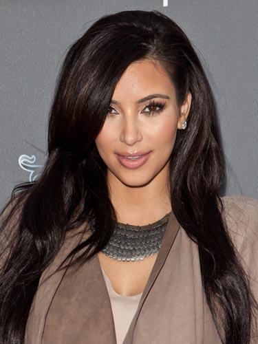 Kim Kardashian Inky Brown Hue 2017