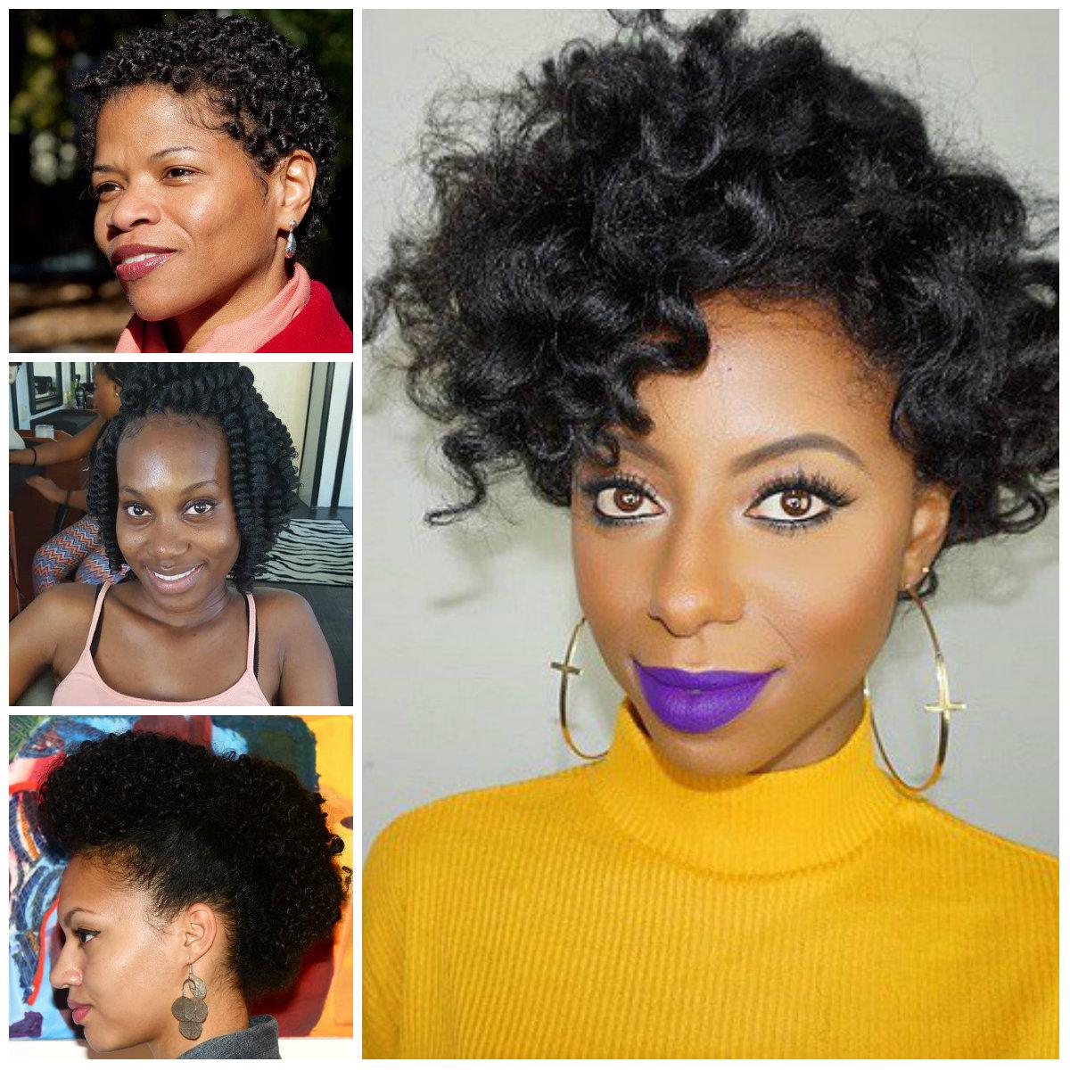 Natural Peinados para las Mujeres afroamericanas