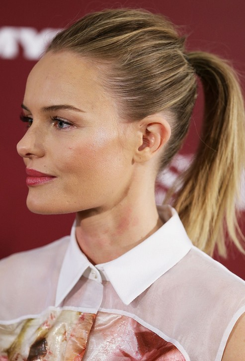 Kate Bosworth Elegante Peinado cola de caballo