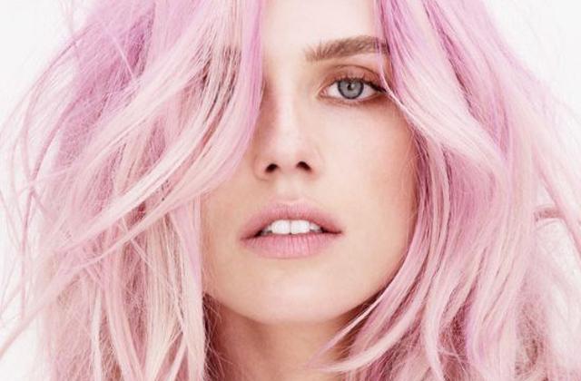 el pelo de color rosa, la tendencia de My little pony en consejos