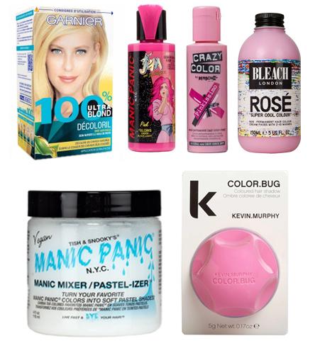 productos-de color de rosa