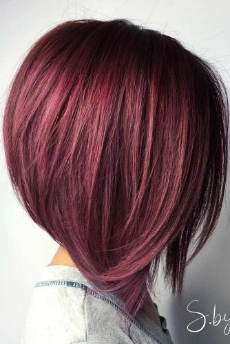 el cabello-mediados de longitud-13
