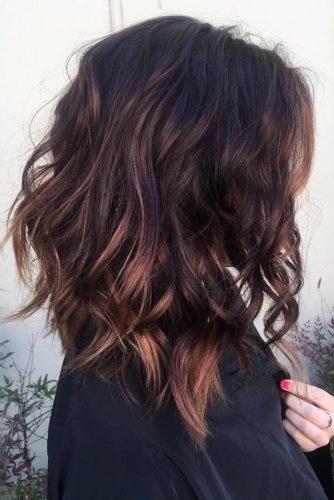 el cabello de mediados de los largo-21