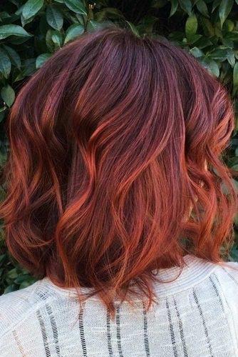 el cabello-mediados de longitud-22