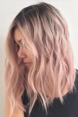 el cabello-mediados de longitud-23