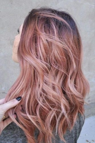 el cabello-mediados de longitud-25