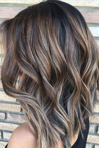 el cabello-mediados de longitud-27