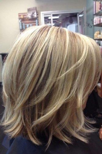 el cabello-mediados de longitud-5