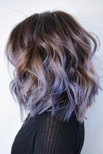el cabello-mediados de longitud-8