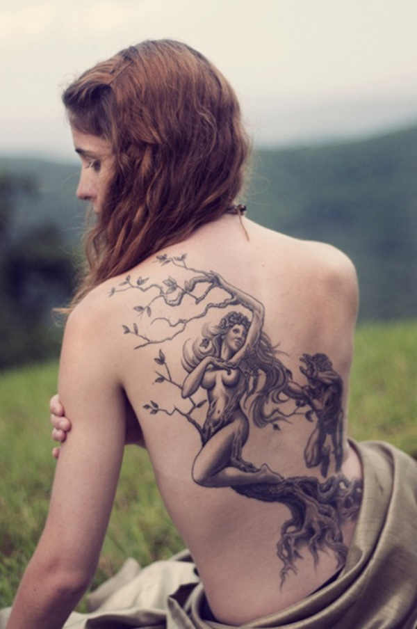 40 Back Tattoo Ideas for Girls 10