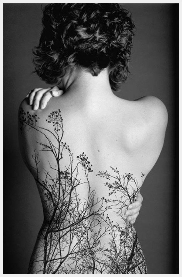 40 Back Tattoo Ideas for Girls 7