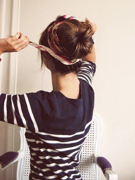Bun Hairstyles 1