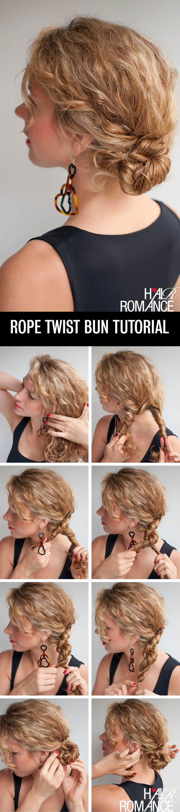 Bun Hairstyles 4