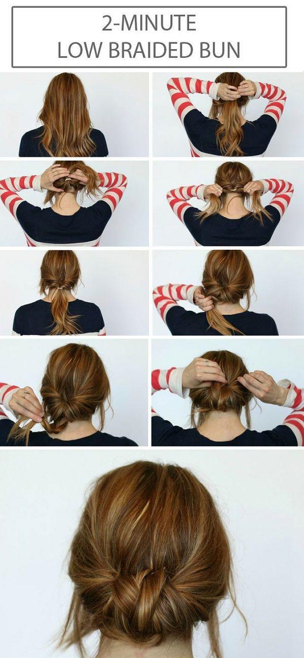 Bun Hairstyles 6