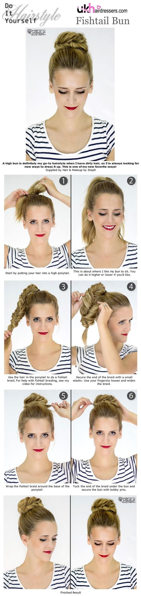 Bun Hairstyles 7
