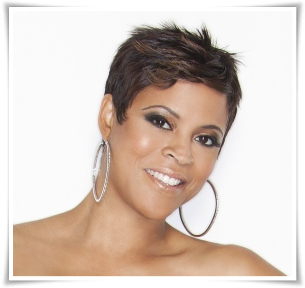 Short Hairstyles for Black Women 26