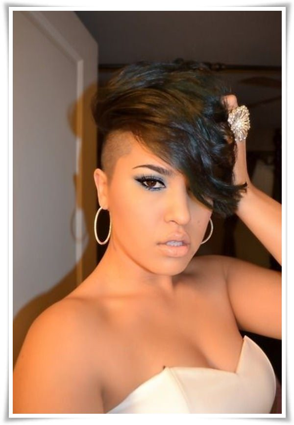 Short Hairstyles for Black Women 27