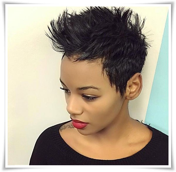 Short Hairstyles for Black Women 5