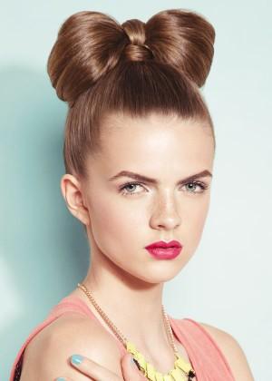 bun hair 5