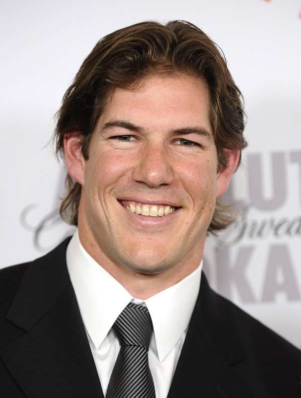 CENTURY CITY, CA - APRIL 17: NFL player Scott Fujita attends the 21st annual GLAAD Media Awards at Hyatt Regency Century Plaza on April 17, 2010 in Century City, California. (Photo by Jason LaVeris/FilmMagic)