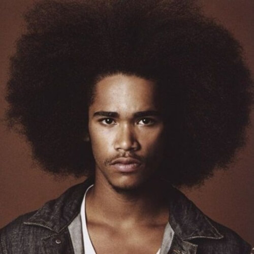 Gran Afro Peinados para Hombres